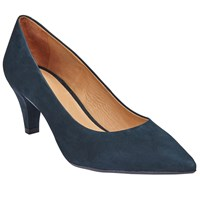 John Lewis Arin Pointed Toe Court Shoes Navy