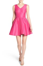 Women's Vineyard Vines V Neck Fit And Flare Dress