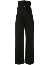 Ground Zero High Waisted Jeans Black