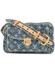 Louis Vuitton Vintage Monogram Denim Bum Bag Blue