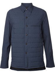 John Elliott Co. Padded Shirt Blue