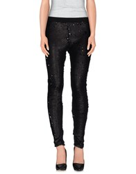 American Retro Trousers Casual Trousers Women Black