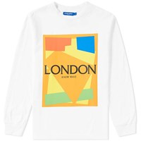 Know Wave Long Sleeve Cut Outs London Tee White