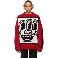 Etudes Studio Red Keith Haring Edition Andy Sweater