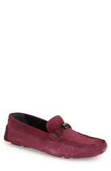 Ted Baker 'Carlsun' Driving Shoe Men Dark Purple Suede