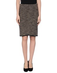 Gattinoni Skirts Knee Length Skirts Women Grey