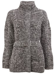 Maison Ullens Padded Cardi Coat Black