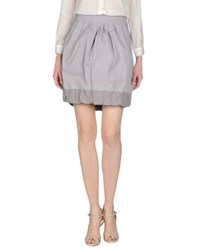 Gunex Skirts Knee Length Skirts Women Grey