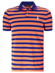 Ralph Lauren Polo Golf By Short Sleeve Polo Shirt Blaze Orange