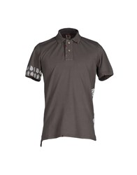 H953 Polo Shirts Dark Brown