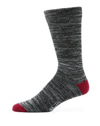 Penguin Atrium Combed Cotton Random Feed Socks Black