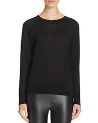 Dkny Pure Raglan Sleeve Sweater Black