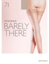 John Lewis 7 Denier Barely There Stockings Nude