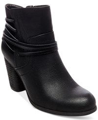 Madden Girl Denice Strapped Booties Women's Shoes Black