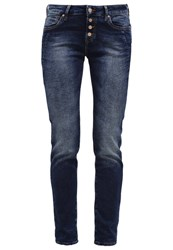Mavi Jeans Mavi Andrea Relaxed Fit Jeans Dark Uptown Moon Washed