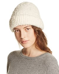 Free People Melt My Heart Boucle Beanie Ivory