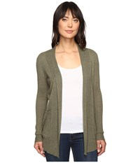 Billabong Line Games Cardigan Canteen Women's Sweater Brown