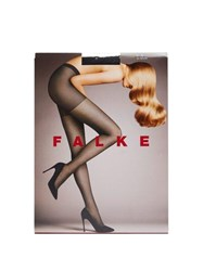 Falke Light Point Silver Lurex 3D Knit Fishnet Tights Black Multi