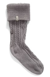 Uggr Women's Ugg 'Shaye' Tall Boot Socks Seal Fabric