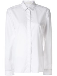 Dion Lee Pin Stitch Detail Shirt White