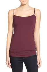 Women's Halogen 'Absolute' Camisole Burgundy London