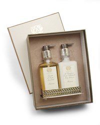 Antica Farmacista Prosecco Hand Wash And Moisturizer Gift Set With Tray
