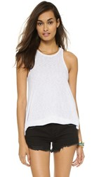 Free People Long Beach Tank White