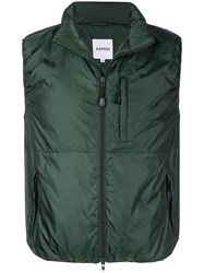 Aspesi Lightweight Gilet Green
