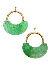 Katerina Psoma Earrings Green