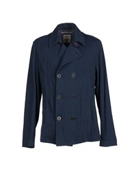 Siviglia Denim Coats And Jackets Jackets Men Dark Blue
