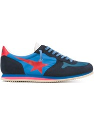 Haus Lace Up Sneakers Blue
