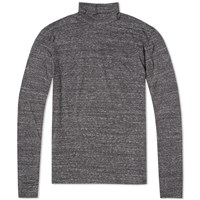 Nonnative Long Sleeve Dweller Turtle Tee Black