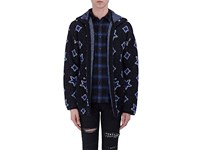 Saint Laurent Men's Mohair Blend Oversized Hooded Cardigan No Color