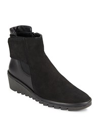 The Flexx Malificent Leather Ankle Boots Black