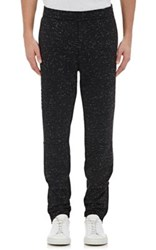 Vince. Men's Striated Moto Sweatpants Black