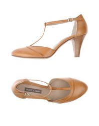 Janet And Janet Footwear Courts Women Brown