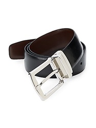 Hickey Freeman Reversible Leather Belt Black Brown
