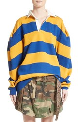 Marc Jacobs Women's Stripe Rubgy Sweatshirt