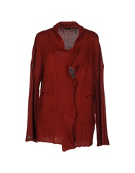 Brian Dales Cardigans Brick Red