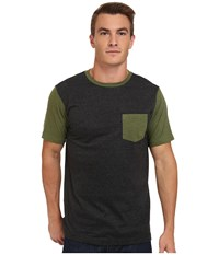 Matix Clothing Company Standard Clash T Shirt Charcoal Men's T Shirt Gray