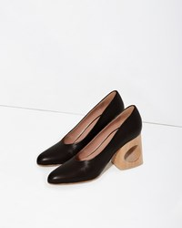 Marni Cutout Pump Black