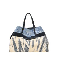 Jerome Dreyfuss Maurice Bag In Tie And Dye Caviar