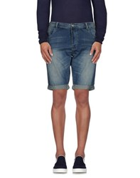 Individual Denim Denim Bermudas Men