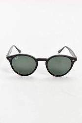 Ray Ban Tinted Lens Round Sunglasses Black