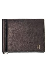 Men's Cathy's Concepts Personalized Leather Wallet And Money Clip Brown Brown H