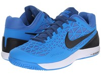 Nike Zoom Cage 2 Photo Blue White Fountain Blue Black Men's Tennis Shoes