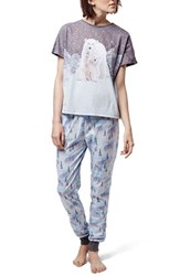Women's Topshop 'Polar Bear' Pajamas