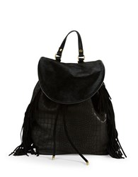 Sam Edelman Fifi Calf Hair Backpack Black