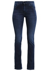 Marc O'polo Straight Leg Jeans Sateen Nights Wash Blue