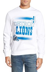 Men's Mitchell And Ness 'Detroit Lions' Tailored Fit Fleece Crewneck Sweatshirt